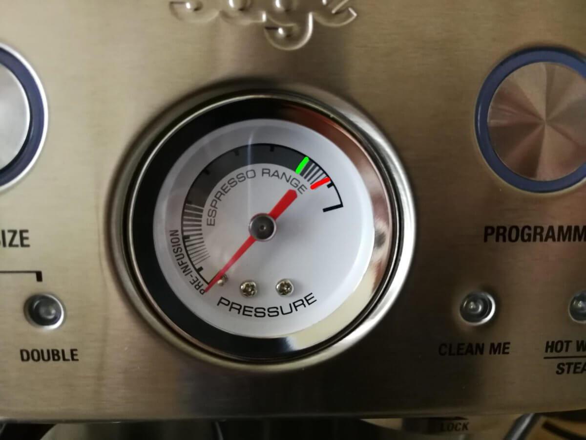 Pressure Gauge Barista Express
