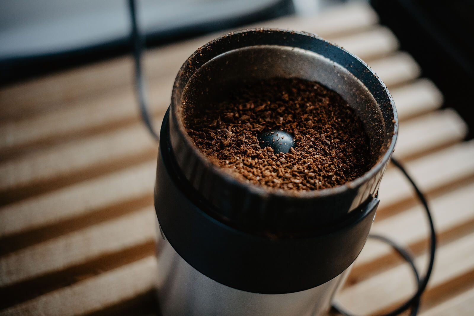 Grind your coffee beans