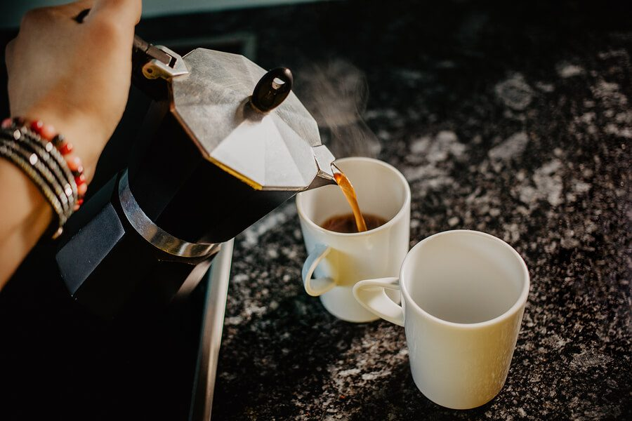 Serve Your Moka pot Coffee Immediately