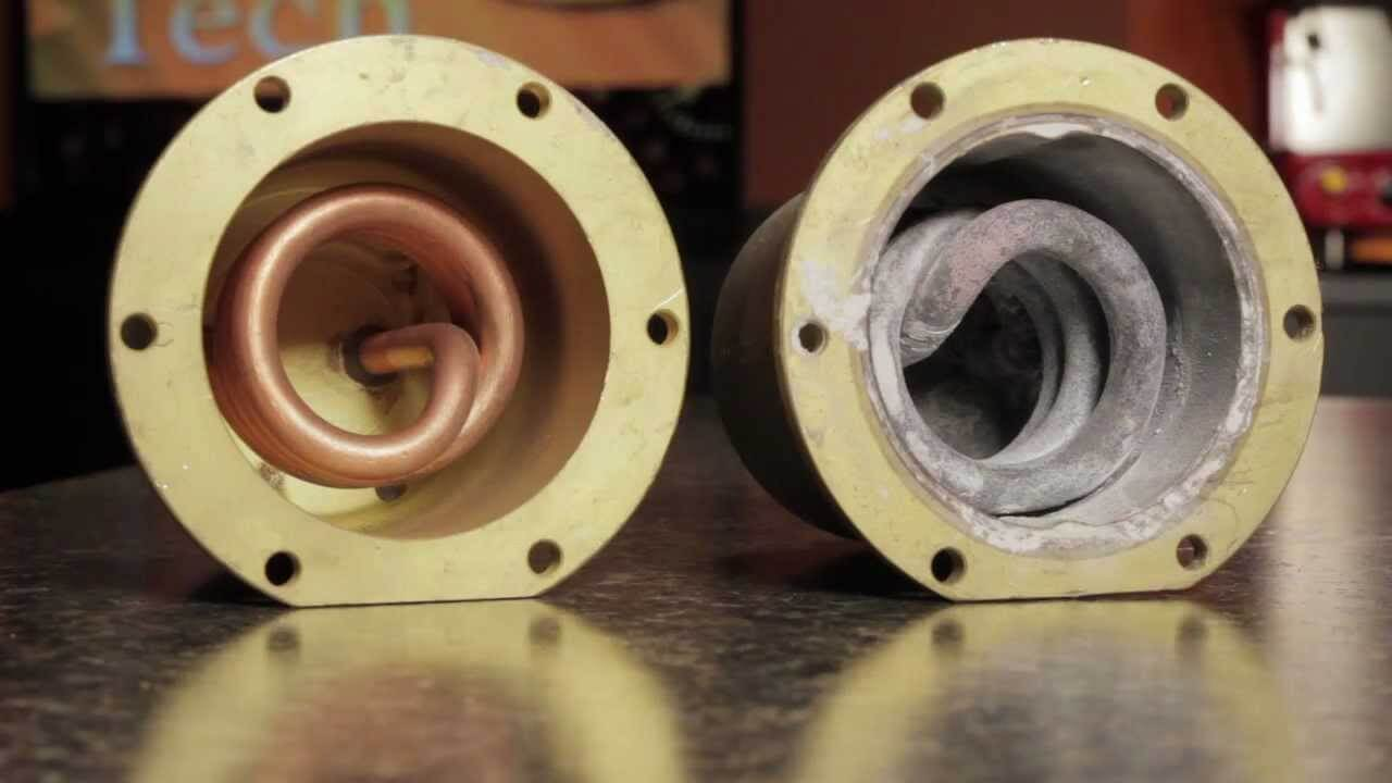 Scaled and Descaled Boiler