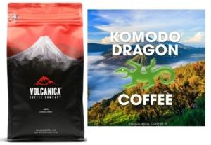 Komodo Dragon Coffee(Volcanica Coffee Co)