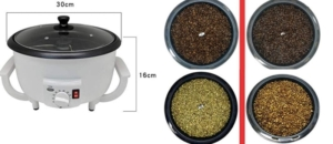 JIAWANSHUN Electric Coffee Bean Roaster
