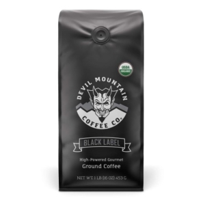 """Black Label"" Dark Roast Ground Coffee"