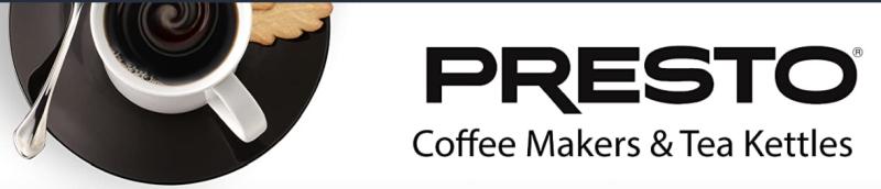 Presto Portable Coffee Maker