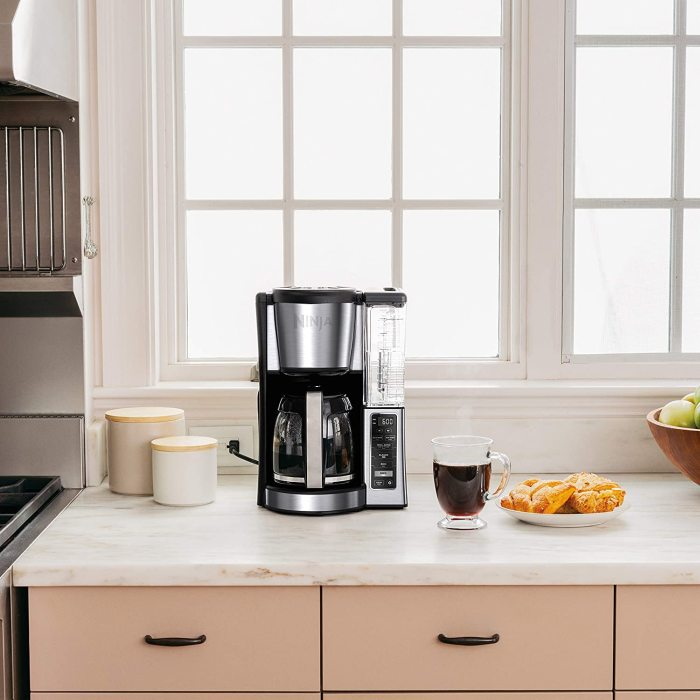 Ninja CE251 Programmable Brewer, with 12-cup Glass Carafe