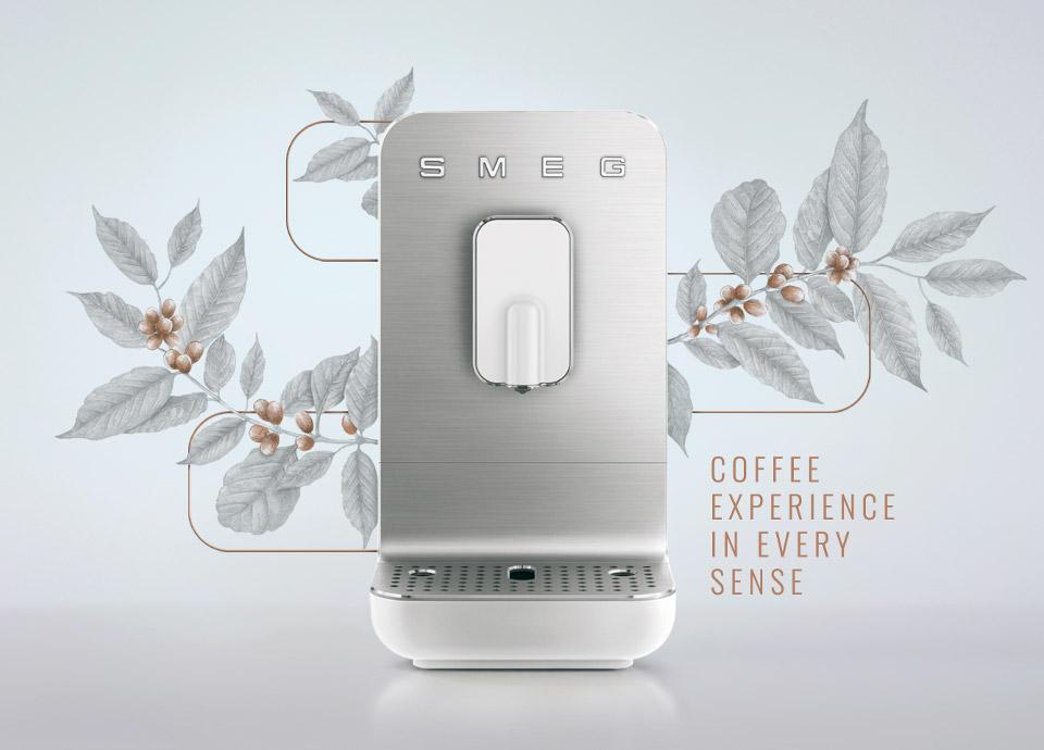 Smeg coffee maker