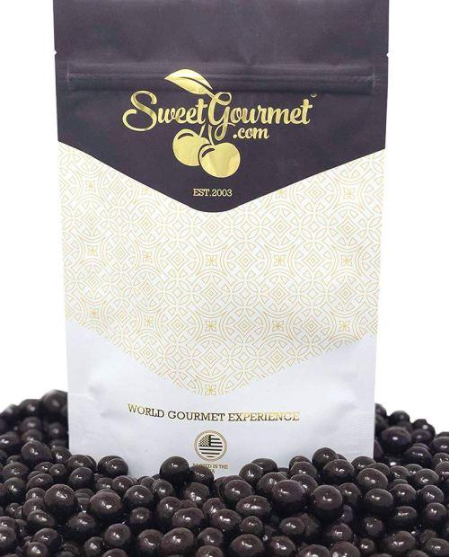 SweetGourmet Dark Chocolate Covered Espresso Coffee Beans